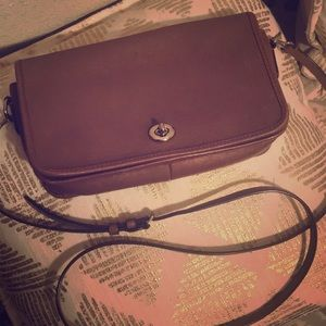 Leather Crossbody by Coach!